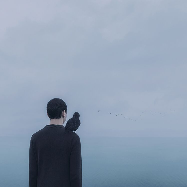 Photographer Creates Surreal Scenes Based on His Blue Journey