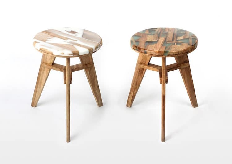 wood and resin furniture