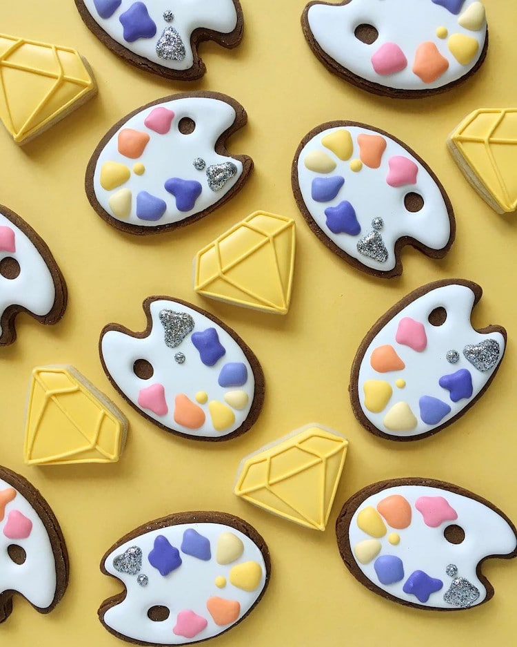 Illustrated Cookies by Holly Fox