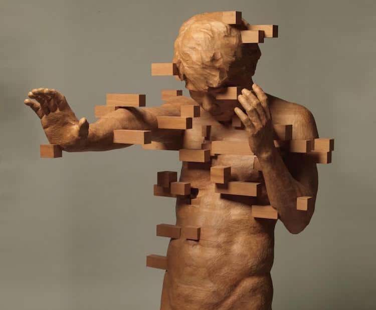 contemporary wood sculptures hsu tang han