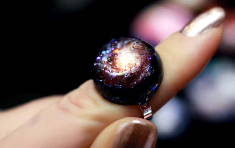 Galaxy-Inspired Jewelry by I Sew Cute