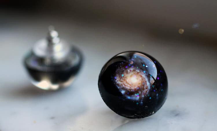 Galaxy-Inspired Jewelry by I Sew Cute