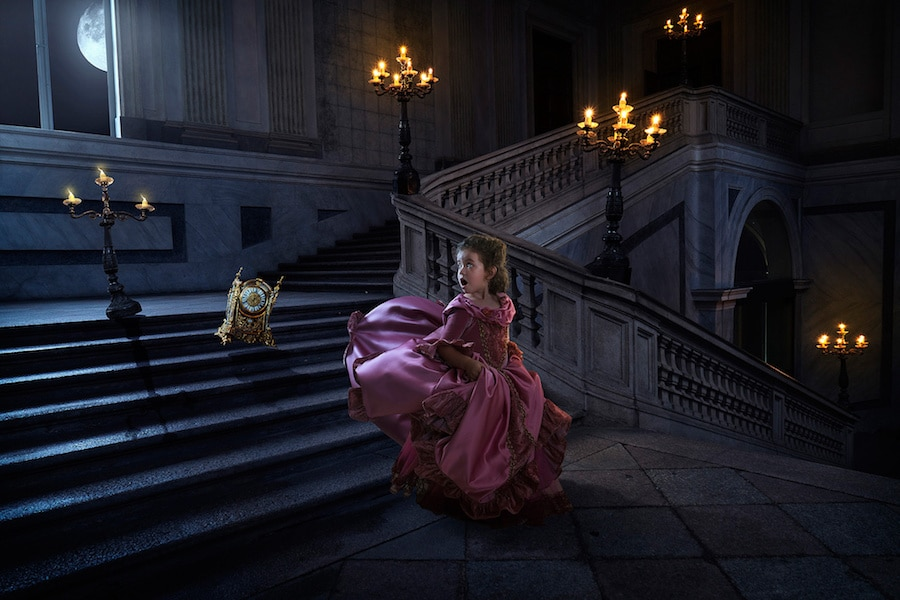john rossi photography beauty and the beast photo shoot daughter father surprise valentine's day