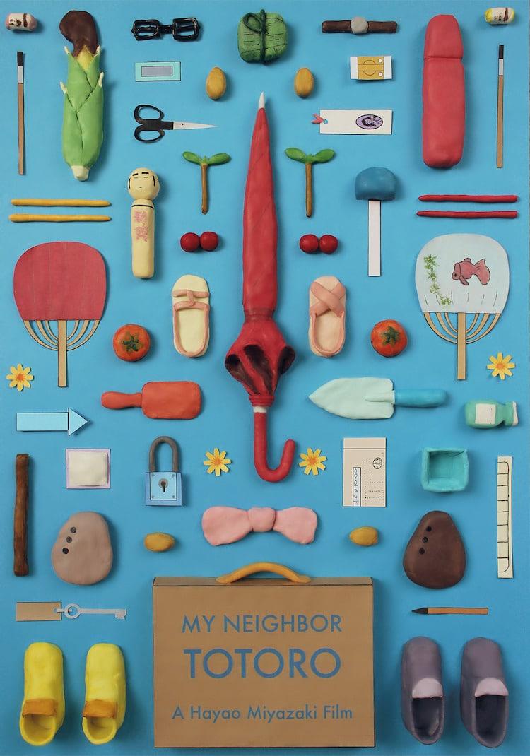 Hayao Miyazaki movie posters