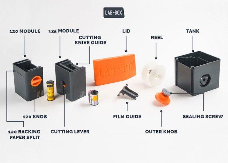LAB-BOX portable developer for film photography