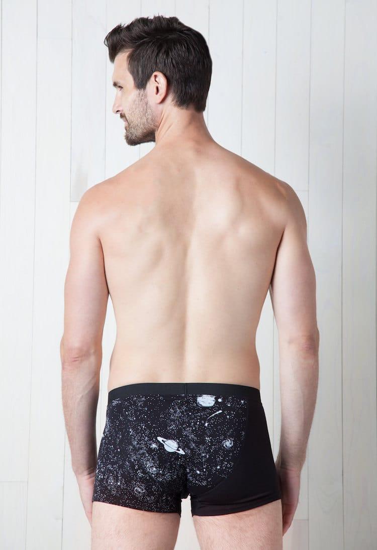 Glow-In-The-Dark Underwear Illuminates a Spectacular Universe