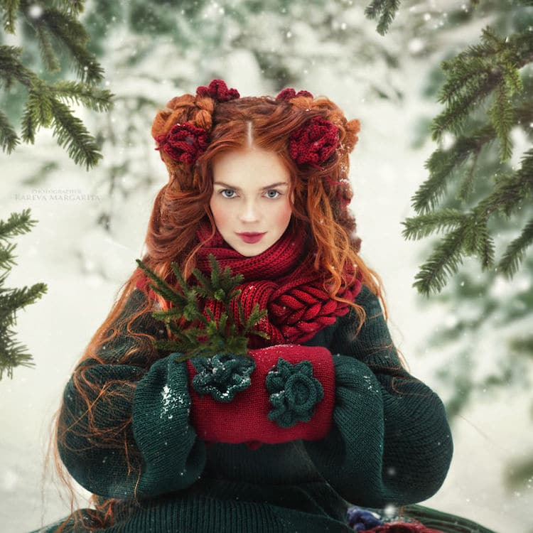 Russian Fairy Tales Translated into Fashion-Forward Portraits