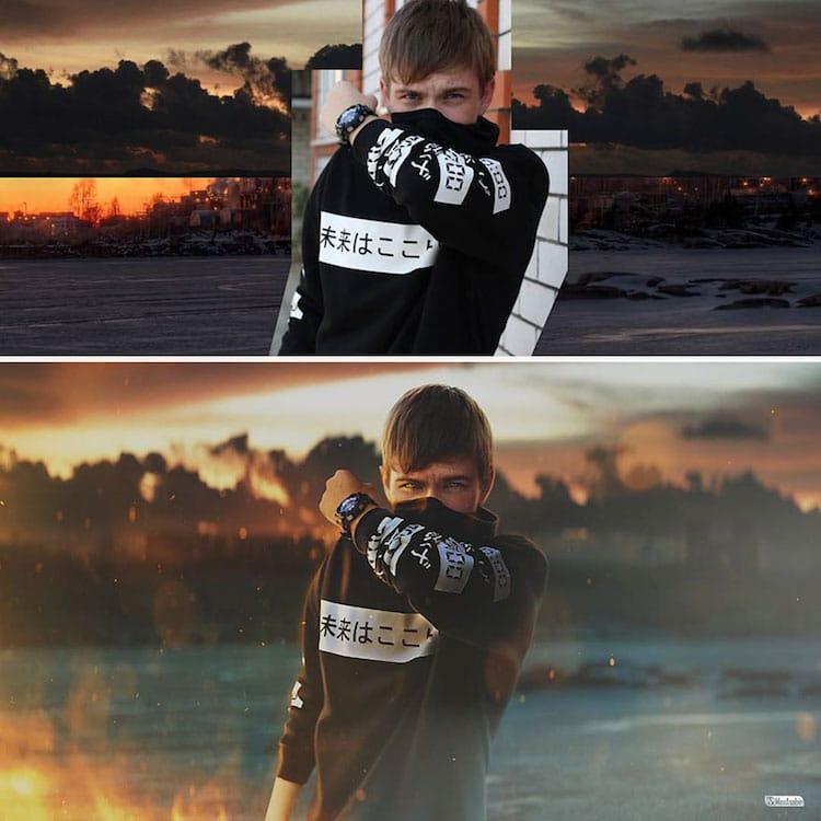 Photoshop Master Max Asabin Turns Ordinary Photos into Spectacular Scenes