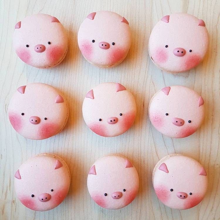 Adorable Animal Macarons are Almost Too Cute to Eat