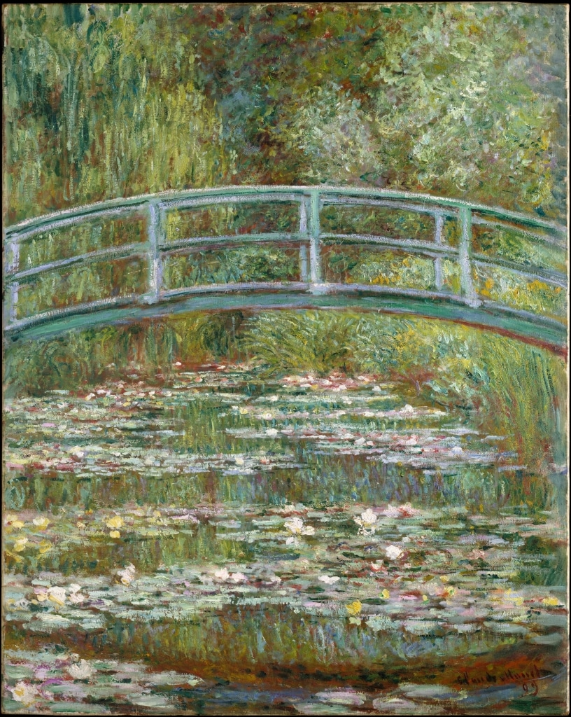 Claude Monet, El puente japonés (1899)