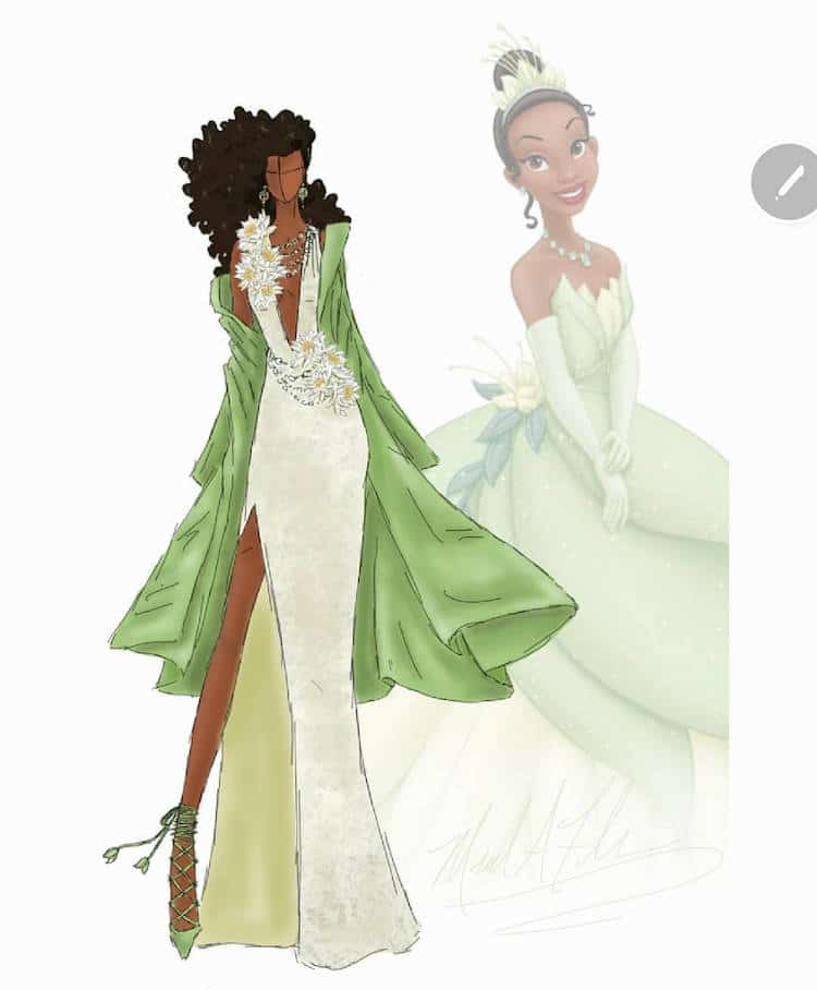 Couture Disney Princesses Gives Characters High Fashion Makeovers