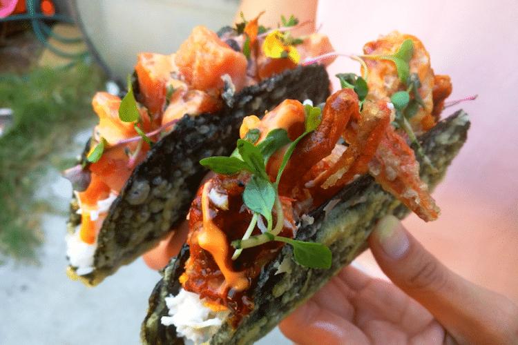 sushi tacos norigami food hybrids japanese food