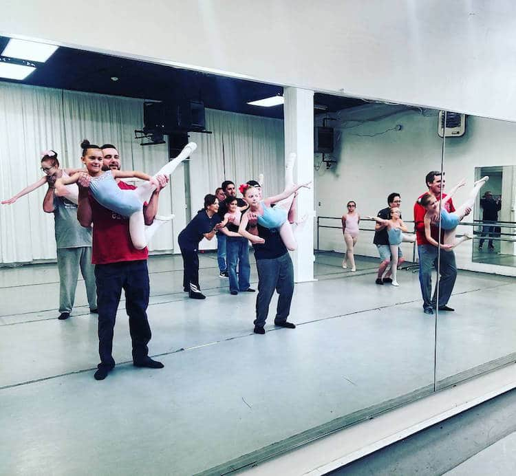 philadelphia dance better dad ballet class dancing dads valentine's day