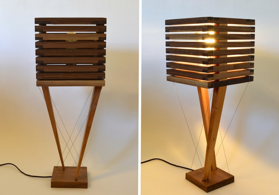 modern furniture design tensegrity lamps robby cuthbert