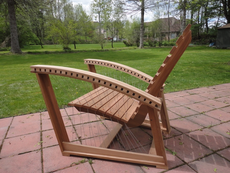 tensegrity adirondack chair by robby cuthbert