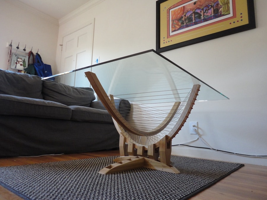 tensegrity coffee table modern designer furniture tensegrity o19 tensegrity