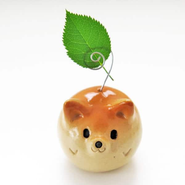 Ceramic Shiba Inus by Siro's Funny Animals