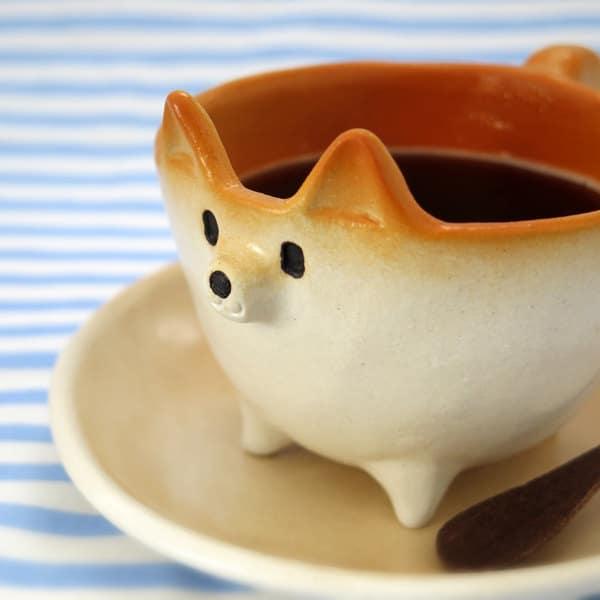 Ceramic Shiba Inu Mug by Siro's Funny Animals