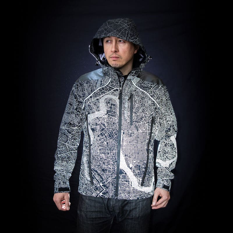 mens reflective jacket for cycling