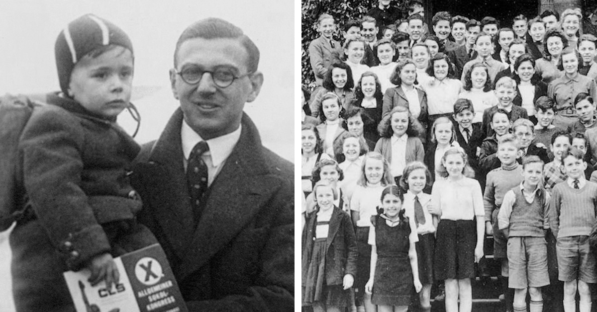 Sir Nicholas Winton Reunited with 669 Children He Saved from Holocaust