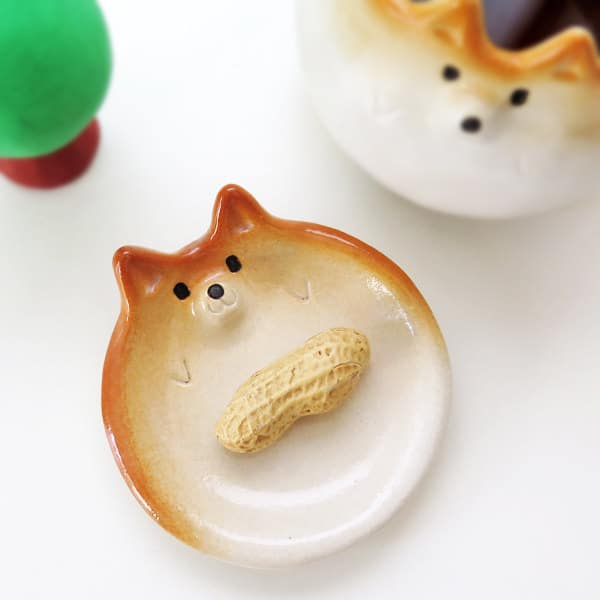 ceramic Shiba Inus Siro's Funny Animals tableware cute animals handmade