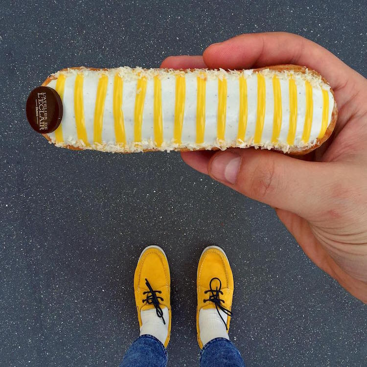 Matching Shoes and Desserts of Paris by Tal Spiegel