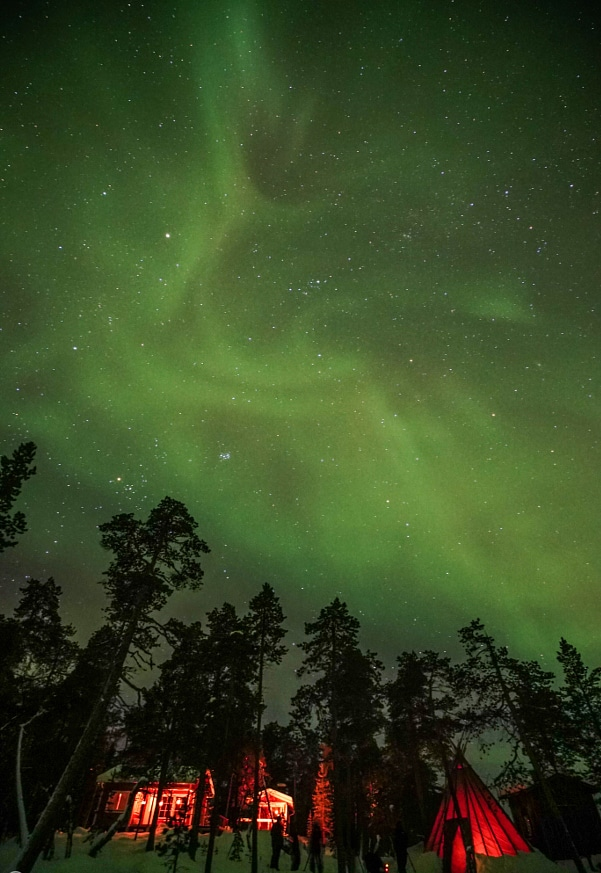 Yuichi Yokota Finnish Winter Finland Northern Lights