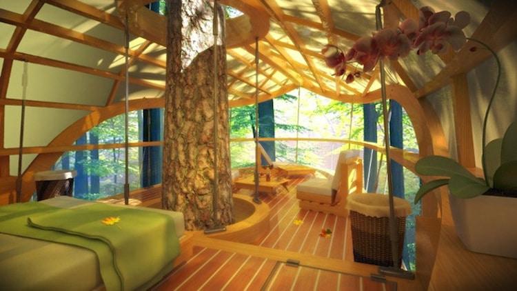 treehouses for grown-ups farrow partnership architects eterra samara