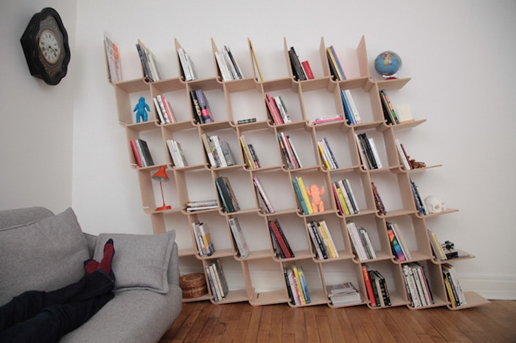 Creative Bookshelves And Unique Bookcases That Put A Spin On Storage