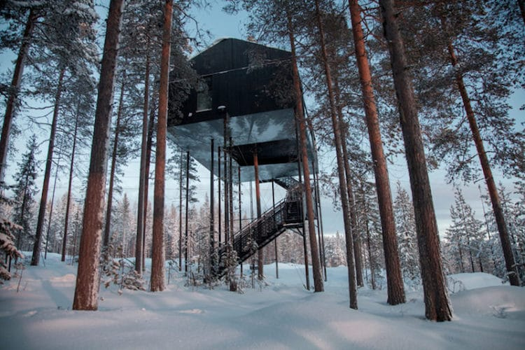 treehouses for grown-ups snohetta treehotel