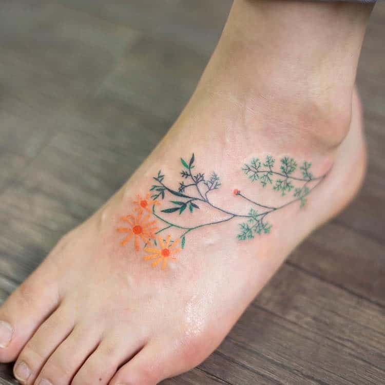 best floral tattoos best floral tattoo artists design flower tattoos botanical tattoos nature tattoos