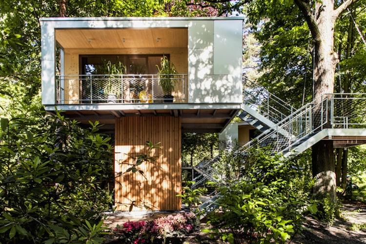 treehouses for grown-ups baumraum urban treehouse