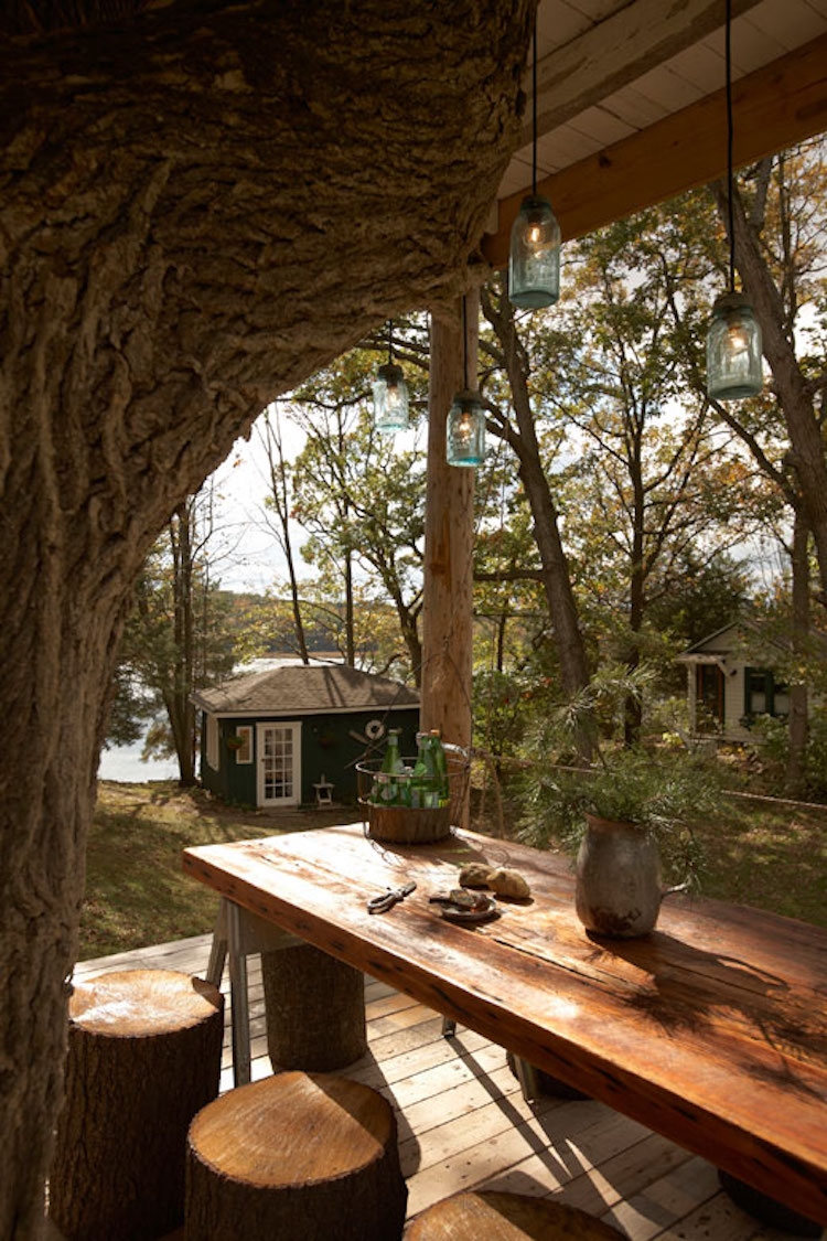 treehouses for grown-ups treehouse travel cabin wandawega toms treehouse