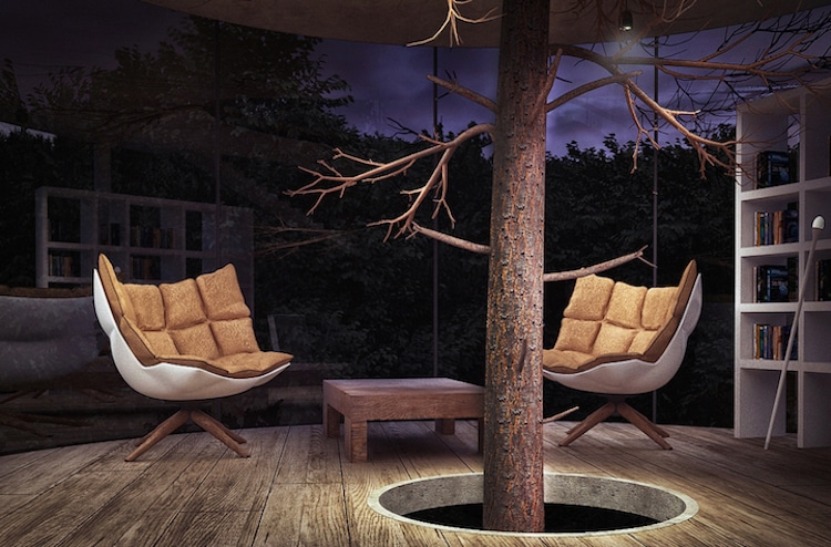 treehouses for grown-ups a masow design studio tree in the house