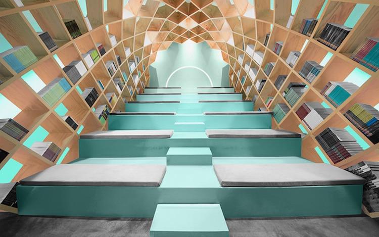 unique bookcases creative bookshelves books design nook