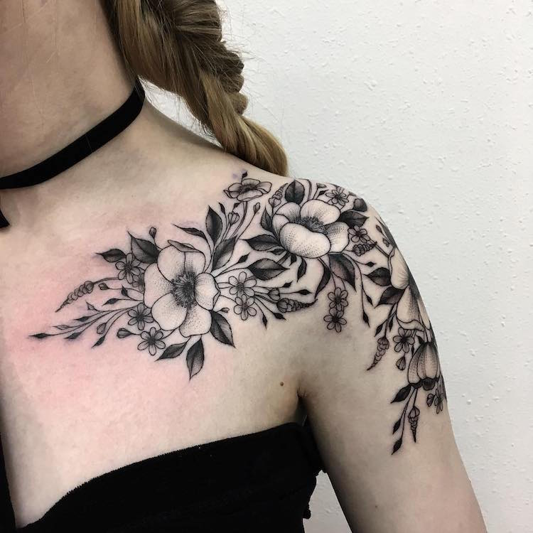 Cool Flower Tattoos: Floral Tattoo Artists Who Capture The Diverse Beauty Of Blooms