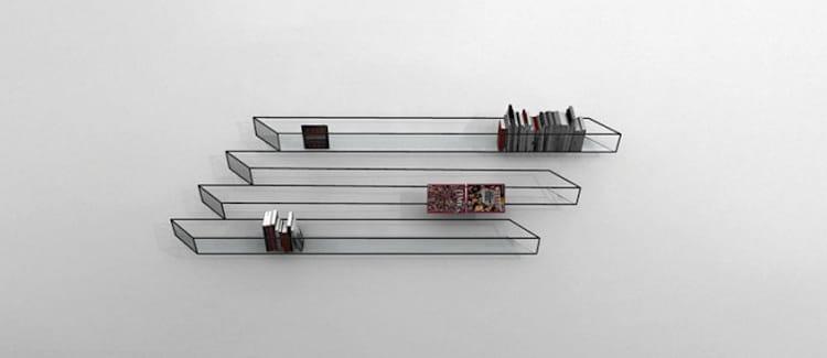 unique bookcases creative bookshelves books design optical illusion