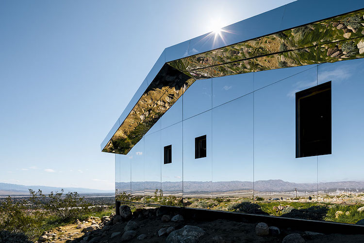 Mirage House Public Art in Coachella Valley, California