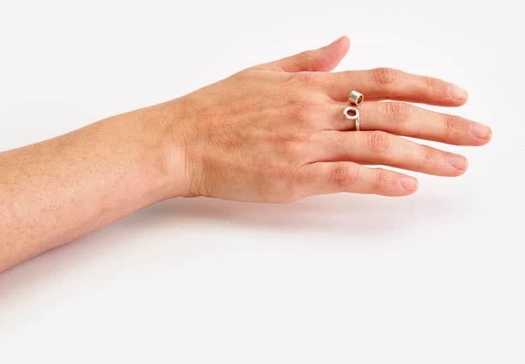 fresh flower ring