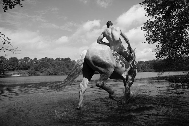 photo of man on a horse nick turner