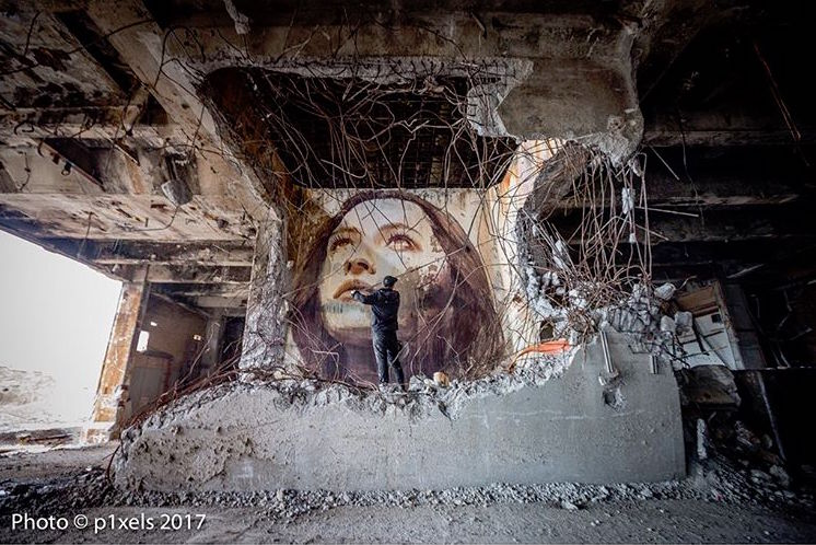 rone street art alpha project