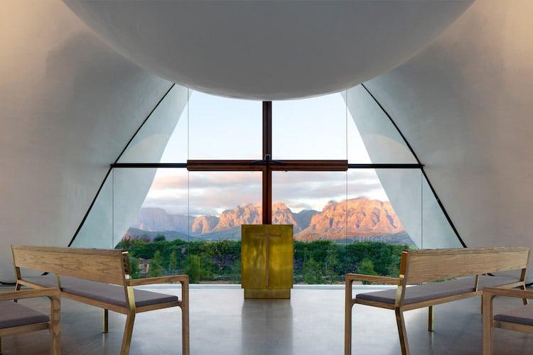 religious architecture bosjes chapel