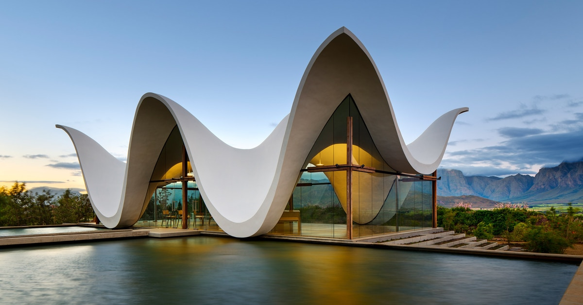 Modern Chapel In South Africa Has Roof That Appears To