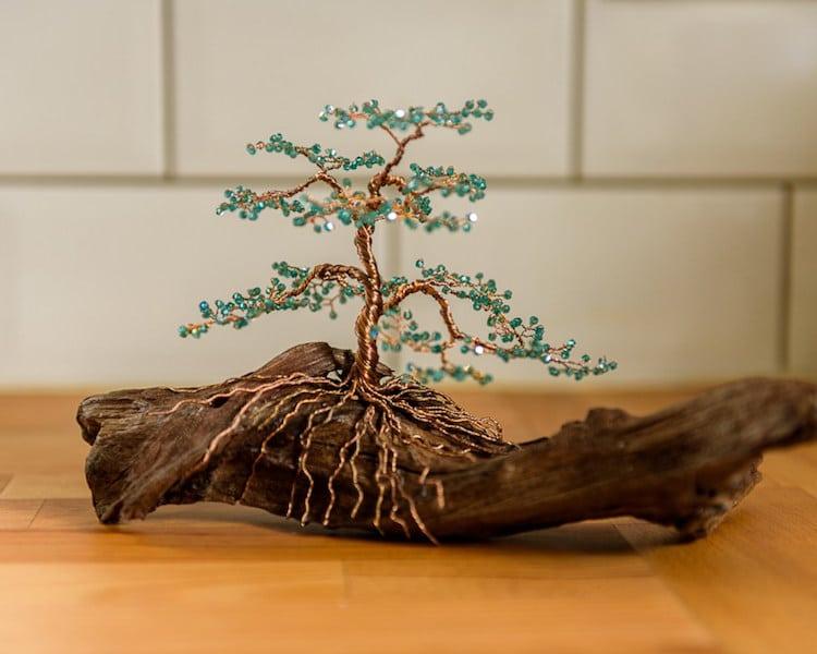 wire tree art