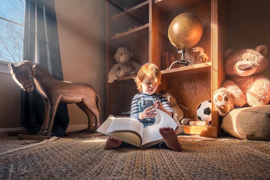 adrian c. murray childhood photos family photography