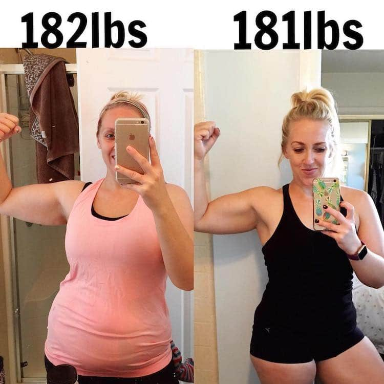 weight lifting transformation