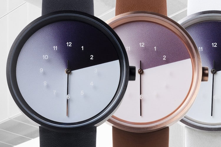 hidden time trio of time jiwoong jung anicorn watches gradient watch shadow