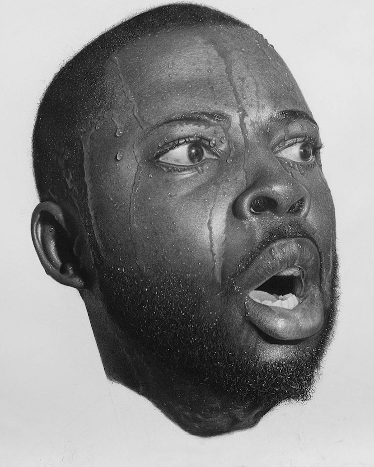 arinze stanely nigerian artist pencil art