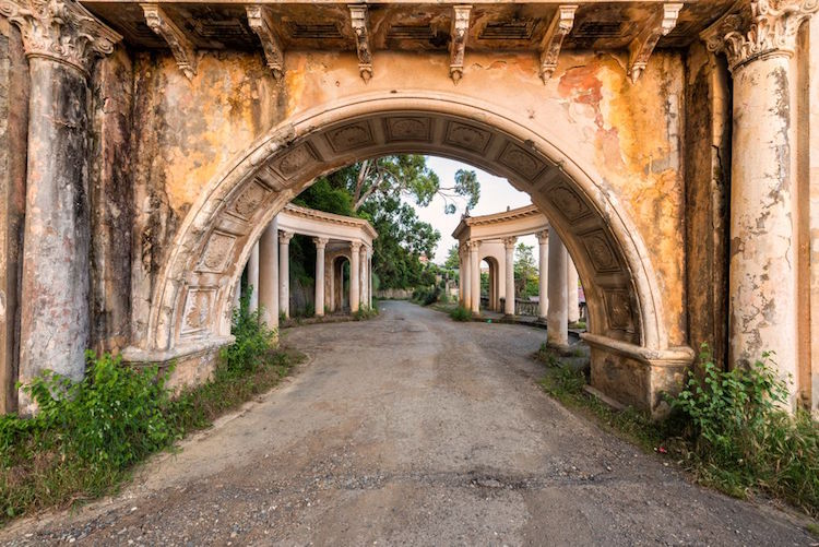 Stalin era architecture abkhazia