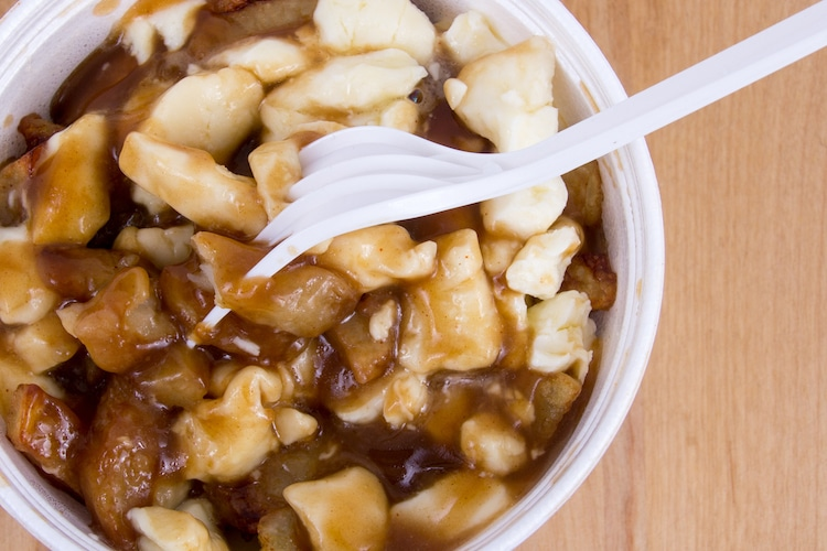 poutine best drinking foods